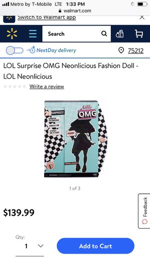 Lol surprise doll OMG Neonlicious fashion doll NEW for Sale in Irving, TX