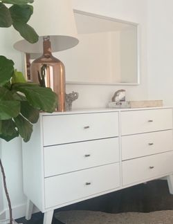 Mid Century Modern White Dresser for Sale in Los Angeles,  CA
