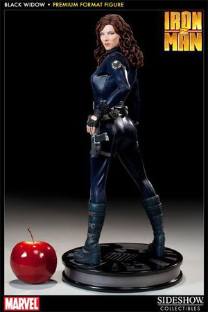 Sideshow Collectibles Marvel Iron Man 2 Black Widow Premium Format Statue Figure for Sale in Pico Rivera, CA