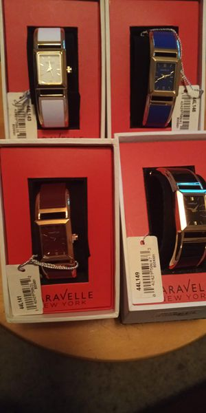 4 New! Caravelle Watches! for Sale in Mesquite, TX