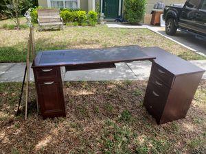 CURB ALERT, FREE Corner Executive Desk, Storage 11927 PALM BAY CT., NPR, 34654 for Sale in NEW PRT RCHY, FL