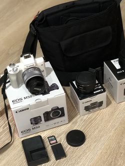 Canon M50 with original and extra lenses, Like New for Sale in Bird in Hand,  PA