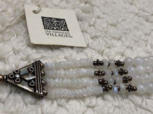 "Moonstone sterling bracelet ""Ten thousand villages"" for Sale in Los Angeles, CA"