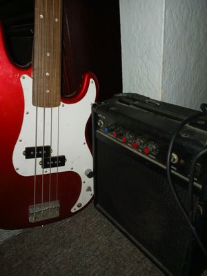 Electric guitar and amp for Sale in Colton, CA