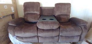 U3118C Reclining Living Room Set (Subaru Coffee for Sale in La Vergne, TN