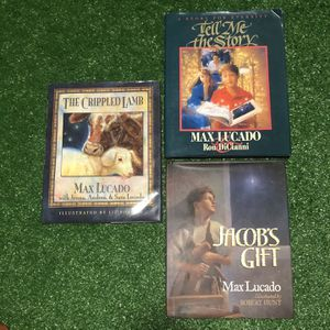 Max Lucado - Childrens Books, Set of 3 for Sale in Baltimore, MD