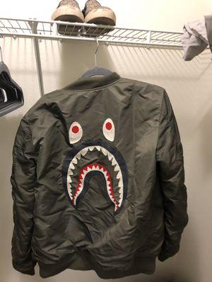BAPE Bomber Jacket MA1 Shark for Sale in Tempe, AZ