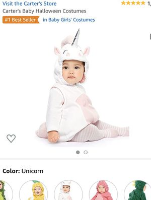 Unicorn baby costume size 6-9 months for Sale in Johnstown, OH