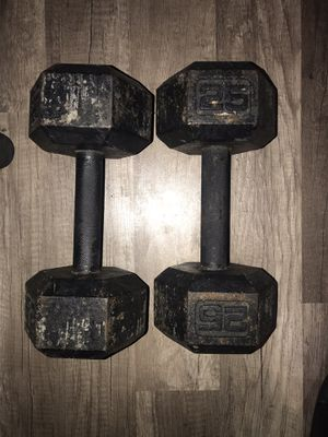25 lbs weights for Sale in Los Angeles, CA