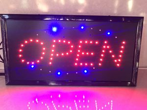 Open Sign for Sale in Lebanon, TN