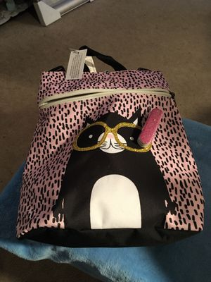 New glam cat backpack for Sale in Glen Burnie, MD