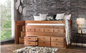 Solid wood Twin Captain's Bed made in the USA🇱🇷🇱🇷🇱🇷 for Sale in Visalia, CA