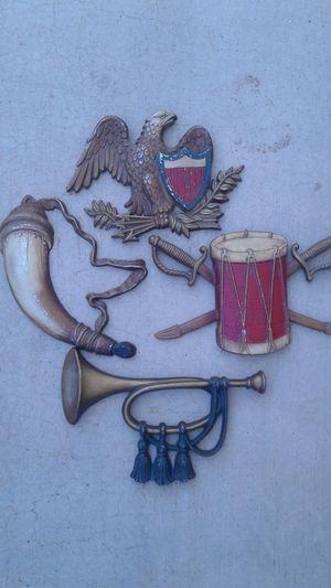 Vintage Cast metal Patriotic Deco for Sale in Glendale, AZ