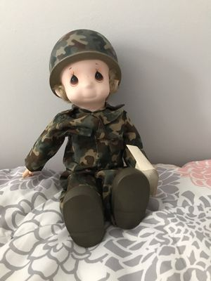 Precious Moments Army Doll for Sale in Bel Air, MD