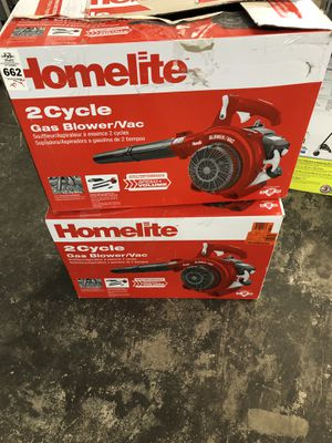 New Homelite Gas Blower Vac for Sale in Riverview, FL