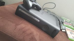 Xbox 360 with 5 games for Sale in Fresno, CA