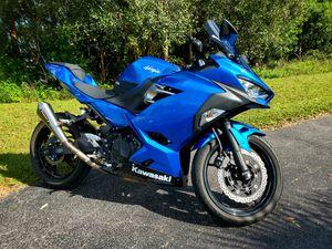 2018 Kawasaki ninja 400cc for Sale in Fort Myers, FL