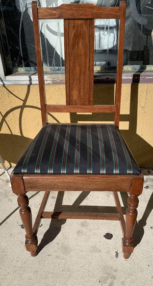 Vintage Antique Desk Or Side Chair, Quality Wood for Sale in Los Angeles, CA