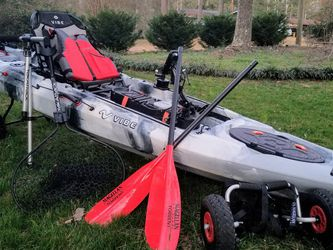 Vibe Sea Ghost 110 and Accessories for Sale in Lilburn,  GA