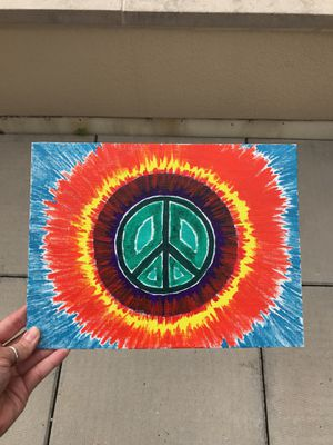 "Peace Painting on Canvas Board 9x12"" for Sale in Columbus, OH"