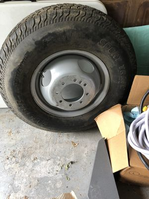 Trailer tire and rim for Sale in Houston, TX