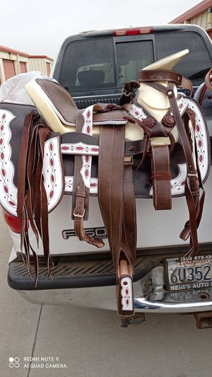 Mexican saddle new for Sale in Shafter, CA
