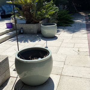 Extra-large Indoor/outdoor Industrial Ceramic Planters/Pots for Sale in Long Beach, CA