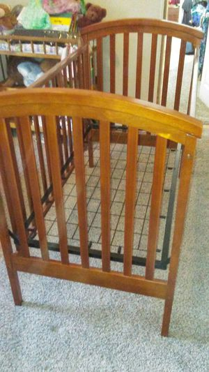 Nice Hard Wood Crib for Sale in Denver, CO