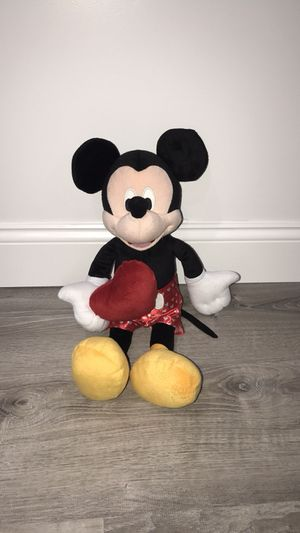 Used, Valentine Mickey Plush for Sale for sale  Queens, NY