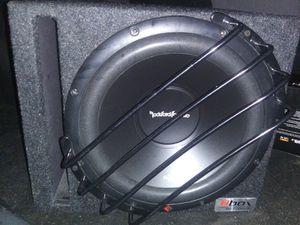 12 inch Rockford Fosgate sub and Fosgate amp for Sale in Aberdeen, WA