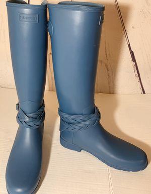 HUNTER Original Tall Refined Boots Rain size 9 for Sale in El Paso, TX