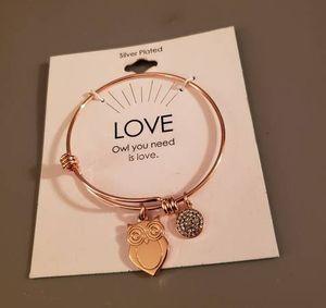 Owl You Need Is Love Bangle Bracelet for Sale in Spokane, WA