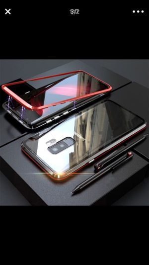 Magnetic phones case for iPhone and Samsung For iPhone X/XS/XS Max For Samsung Note 8/Note 9/ Galaxy S9 for Sale in El Cajon, CA
