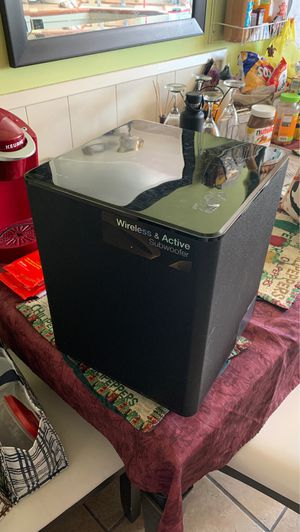 Samsung wireless & active subwoofer for Sale in Los Angeles, CA