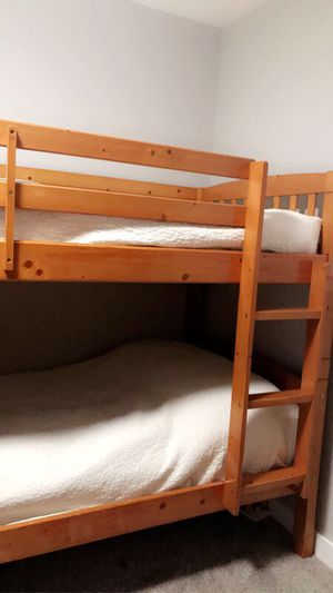 Pine bunk bed for Sale in Tacoma, WA