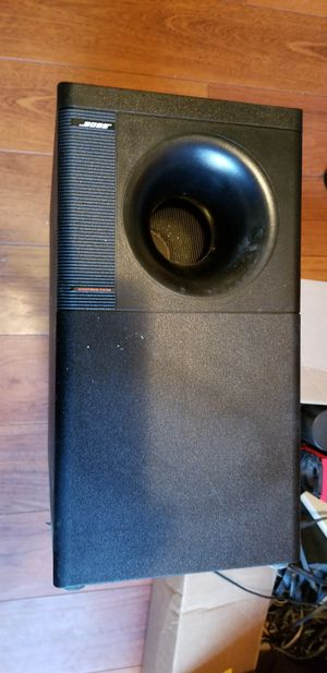 Bose Lifestyle surround sound, CD system with cube speakers and subwoofer, for Sale in Chesterland, OH