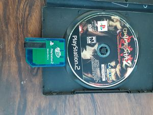 Onimusha 2 with memory card for Sale in Washington, DC