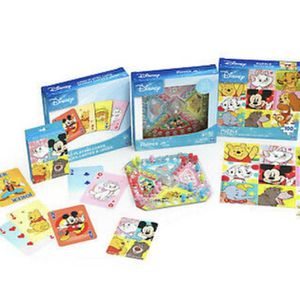 Disney 3-Pack Games Bundle with Jumbo Cards, Popper Jr. Game, Jigsaw Puzzle NEW for Sale in Hollywood, FL