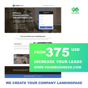 "Landing Page ""website"" for Sale in Orlando, FL"