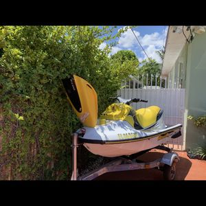 Yamaha WaveRunner 760 With Trailer great Conditionr eady to go 1997 for Sale in Miami, FL