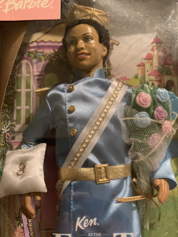 Rare Afro American Barbie Ken Doll