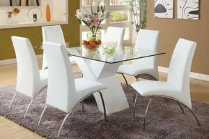 Brand New 7pc Dining Table Set for Sale in Fontana, CA