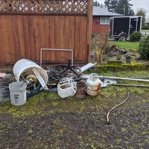 Large pile of scrap mixed metal for Sale in Washougal, WA
