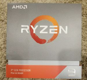 AMD RYZEN 9 3900X 12-Core 3.8 GHz (4.6 GHz Max Boost) AM4 105W for Sale in Pembroke Pines, FL