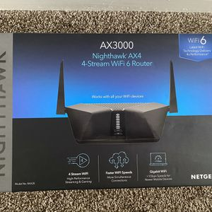 Netgear Nighthawk WiFi 6 Router (Model RAX35) for Sale in Huntington Beach, CA