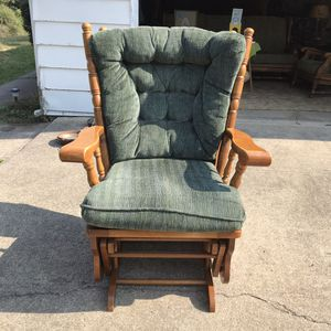 Glider chair for Sale in Linden, PA