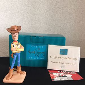 """WDCC Disney Woody from Toy Story """"I'm Still Andy's Favorite Toy"""" for Sale in El Dorado Hills, CA"""