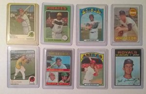8 Vintage Baseball Cards for Sale in Berwyn, IL