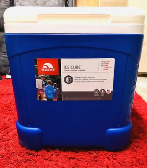 Igloo Ice Cube Wheeled Cooler for Sale in Hillsboro, OR