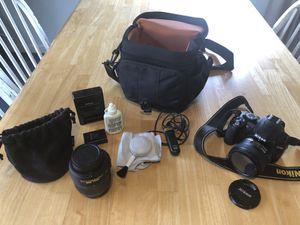 Camera kit: Nikon D3100 (lenses, bag, etc) for Sale in Seattle, WA